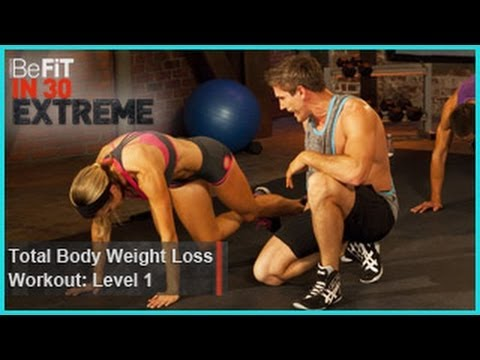 befit - Total Body Weight Loss Workout Level 1 (Calisthenics) from BeFit in 30 Extreme is an explosive, total body-conditioning workout that combines metabolism-boos...