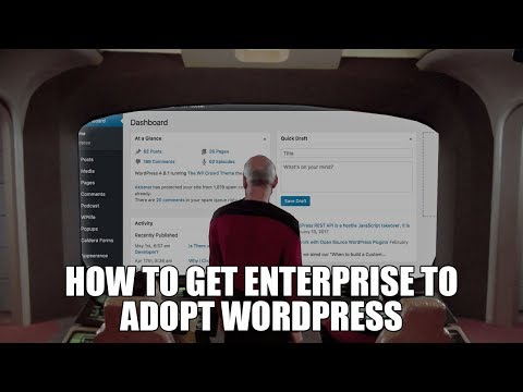 Episode 063: How to Get Enterprise to Adopt WordPress as a Software Podcast