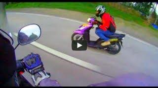 8. MIO versus NOUVO Z Yamaha  top speed, Iniwan ng XRM