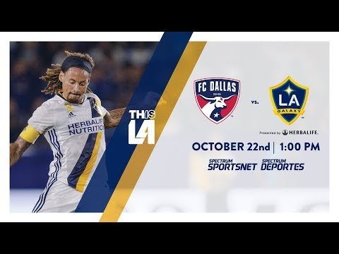Video: TEASER: LA Galaxy vs. FC Dallas | October 22nd, 2017