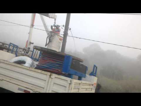 Acidente na ponte dos barreiros em São Vicente.3gp