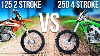 Video 125 2 STROKE VS. 250 4 STROKE MP3, 3GP, MP4, WEBM, AVI, FLV Maret 2019