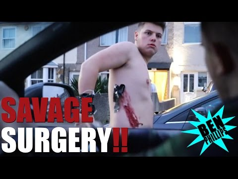 Savage Surgery gone wrong PRANK!