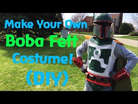 Make Your Own Boba Fett Costume! (DIY)