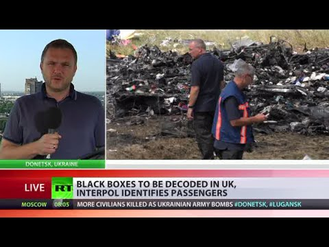 RT - The Netherlands - which is leading the investigation into what happened to flight MH 17 - has asked Britain to decode the two black box flight recorders recovered at the crash site. For more...