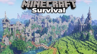 The RUINED CASTLE is FINALLY FINISHED : Minecraft 1.14 Survival Let's Play