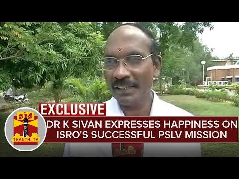 Exclusive--Dr-K-Sivan-expresses-happiness-on-ISROs-successful-PSLV-mission-Thanthi-TV