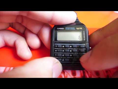 Casio Calculator Watch In-Depth Review