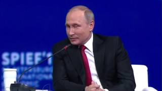 Putin reacts to Trump's withdrawal from the Paris climate agreement