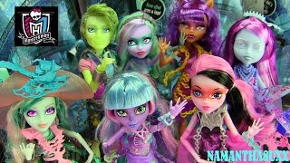MONSTER HIGH HAUNTED DOLLS COLLECTION REVIEW VIDEO!!! :D