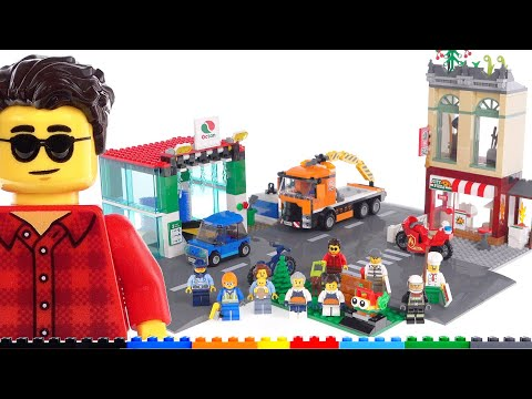 LEGO City Town Center 60292 review! Let's be real about value & perception