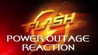 The Flash   1x07 Power Outage Reaction