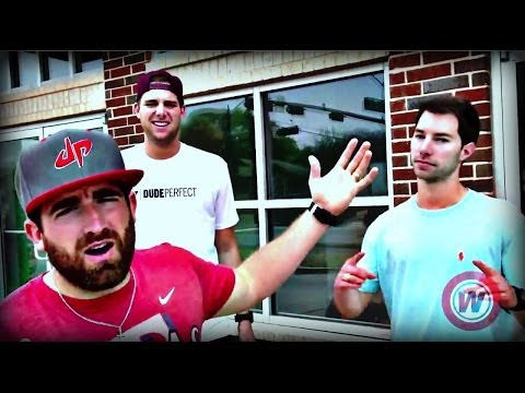 office - The Dudes from Dude Perfect gave us a behind the scenes look at their epic new office! Watch as Ty, Cody and the twins show off their new digs, which includes a studio, kitchen, mini basketball...