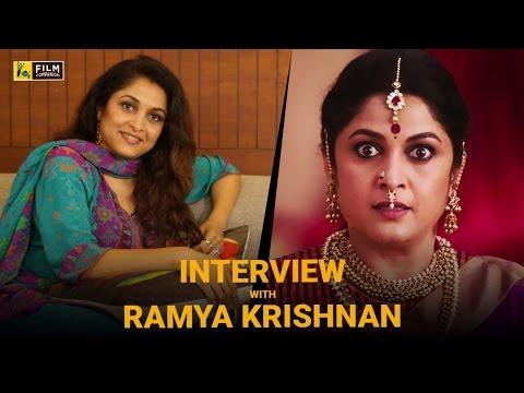 Ramya Krishnan Interview with Baradwaj Rangan | Baahubali 2: The Conclusion