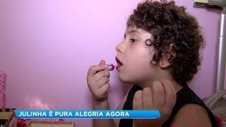 Tatuí: Júlia vence leucemia e é exemplo de superação