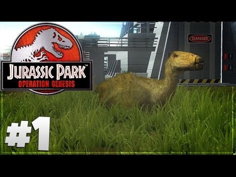 Jurassic Park: Operation Genesis - Part 1: Let's Build A Park.