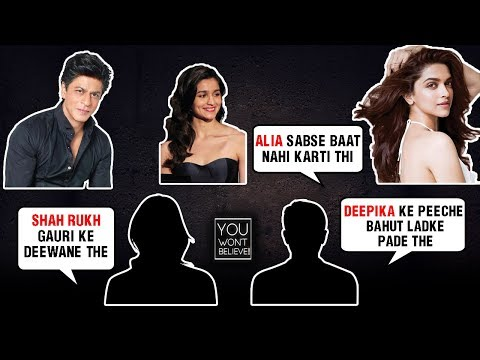 Deepika Padukone, Shah Rukh Khan, Alia Bhatt | Bollywood Stars Childhood Secrets REVEALED