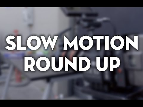 Slow Motion Round Up: RED DRAGON, ARRI AMIRA, & Sony FS7 Footage