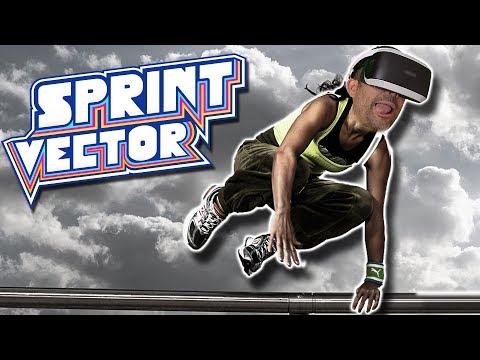 SIMULADOR DE PARKOUR EN REALIDAD VIRTUAL | Sprint Vector (PSVR)