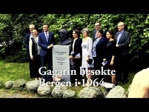 ВНорвегии открыли памятник советскому космонавту Юрию Гагарину
