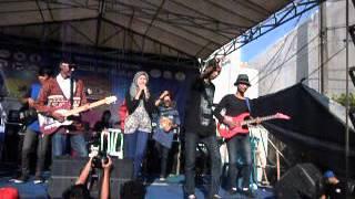 Romika Reggae Roots   Welcome To my Paradise At SMA DIPONOGORO Jaktim