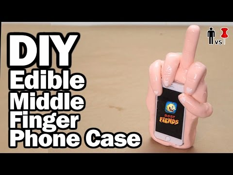 DIY Edible Phone Case - Pinterest Test - Man Vs Pin #97