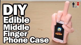 DIY Edible Phone Case - Pinterest Test - Man Vs Pin #97 by ThreadBanger
