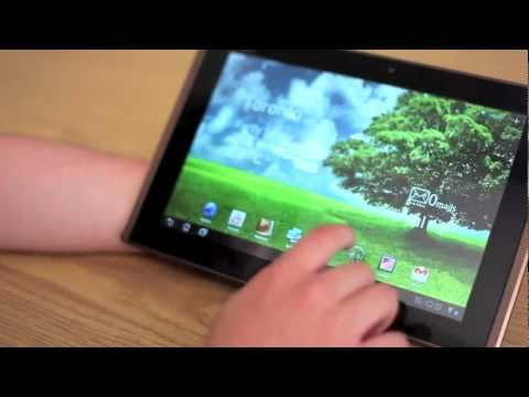 ASUS Eee Pad Transformer 10.1″ Android 3.0 Tablet Review