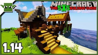 Minecraft 1.14 Fishing Hut Tutorial - The 5x5 Building Guide