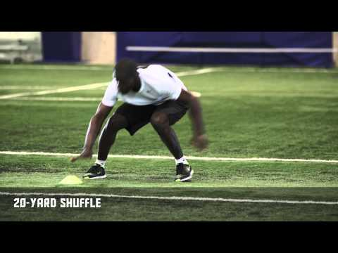 20-Yard Shuffle – Skate Faster | Nike Hockey Training