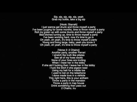 (Full Lyrics) Cashmere Cat- Throw Myself A Party ft Tory Lanez, Starrah, & 2 Chainz
