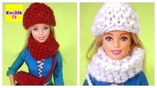 Video Kendin Yap Bölüm 17 | Barbie bebekler için örgü bere nasıl yapılır | Evcilik TV MP3, 3GP, MP4, WEBM, AVI, FLV November 2017