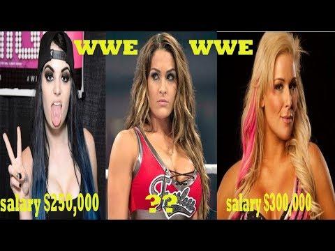 Top10 List Highest Paid-Successful WWE Divas 2018...........