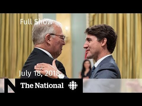The National for July 18, 2018 — Cabinet Shuffle, Radiohead, Thai Soccer Team