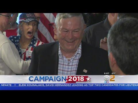 Dana Rohrabacher Mocks 'Blue Wave' After Winning 30 Percent Of Vote