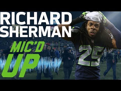Video: Richard Sherman's Best Mic'd Up Moments (Up to Super Bowl XLVIII) | Sound FX | NFL Films