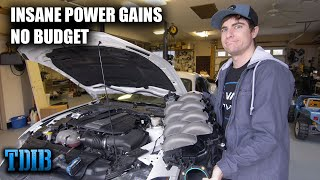 Making BIG POWER on a Low Budget! PROJECT SUBZERO S550 Makes HORSEPOWER! by That Dude in Blue