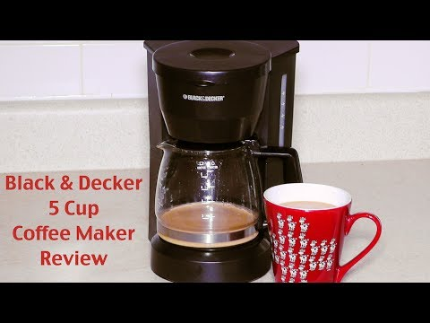 Black and Decker Coffee Maker Review – DCM600W 5-Cup Drip Coffeemaker