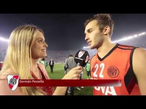 Germán Pezzella, tras el pase a la final de la Copa: