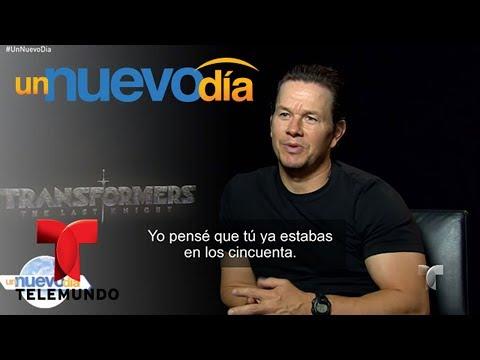 Notícias dos famosos - Mark Wahlberg habla sobre Transformers: The Last Knight  Un Nuevo Día  Telemundo