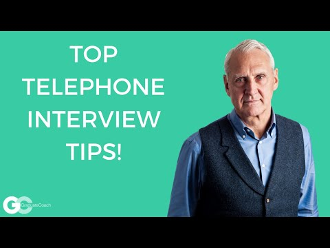 Telephone - Many employers interview over the telephone. However, even if not used to make a final decision on appointing to the role, telephone interviews are often use...
