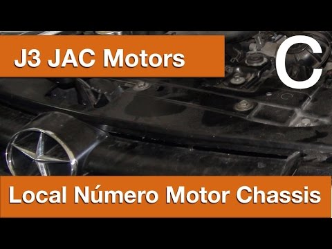 Dr CARRO Local Número Motor Chassis J3 JacMotors