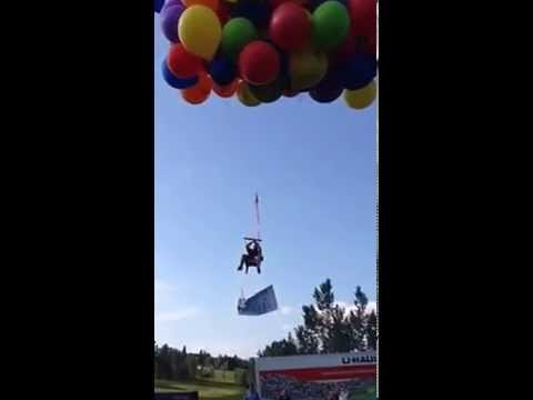 Man Arrested After Flying Lawn Chair With Helium Balloons