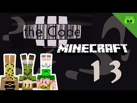 MINECRAFT Adventure Map # 13 - The Code Version 3 «» Let's Play Minecraft Together | HD