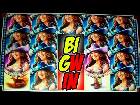 HUSTLING A COUNTRY GIRL & A PANDA TO GET EVEN -- Big Win Slot Machine Bonus