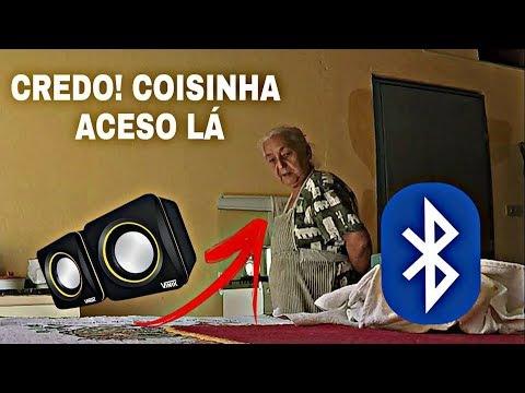 TROLLEI MINHA AVÓ COM A VOZ DO GOOGLE TRADUTOR VIA BLUETOOTH
