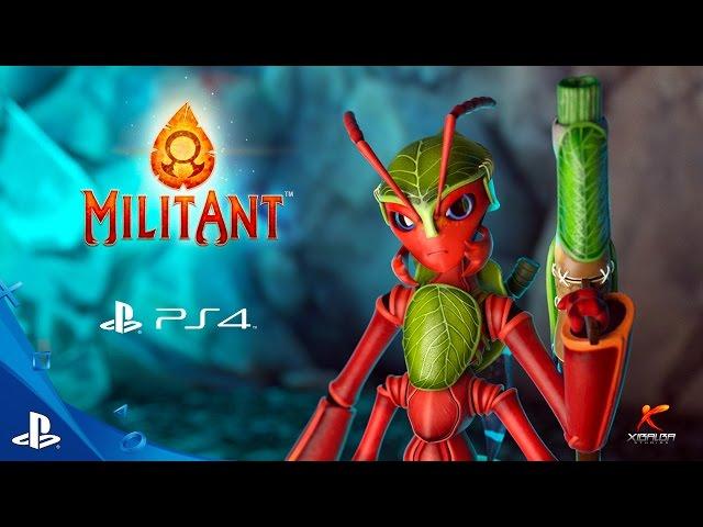 Видео к игре MilitAnt