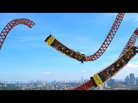 5 CRAZIEST THEME PARK RIDES THAT CAN GIVE YOU A HEART ATTACK