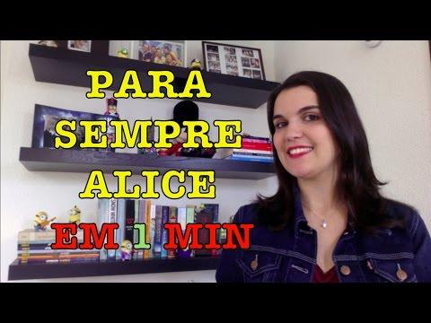 LIVRO EM 1 MINUTO: Para Sempre Alice (Lisa Genova) | Leitora na Holanda