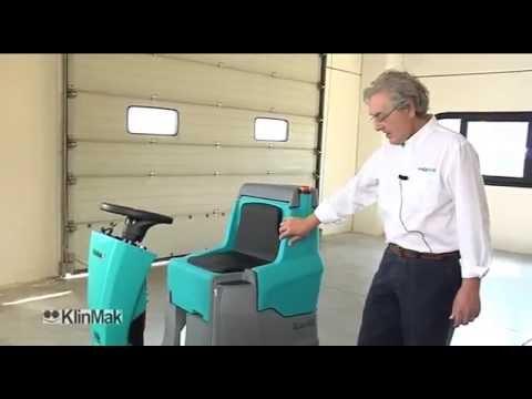 Klinmak Rideon Scrubber Dryer